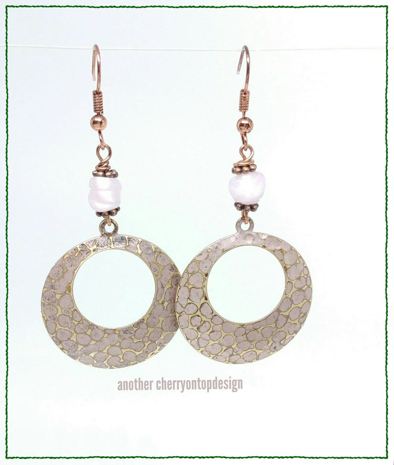 RTS Rose Gold Hoops Earrings last minute holiday gift guide image 0