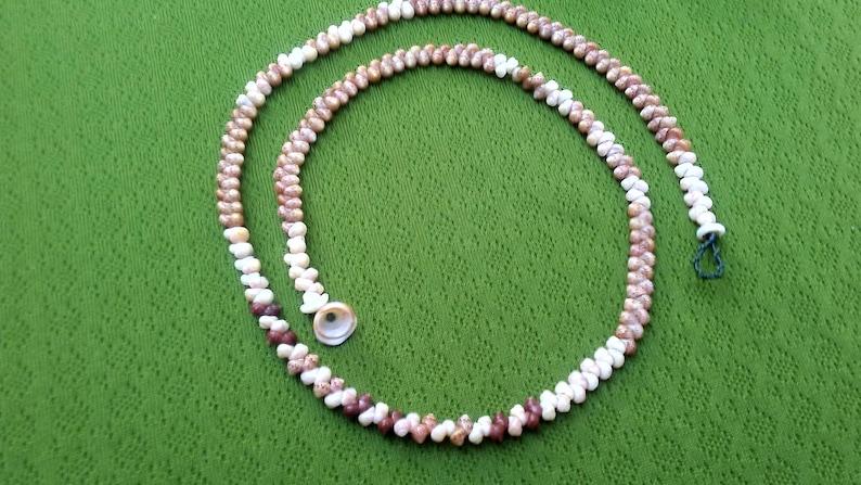 Kauai Necklace Shell Lei Shell Necklace Shell Necklace Beach Jewelry Hawaii Shell Jewelry Rare Shells Kauai Shells