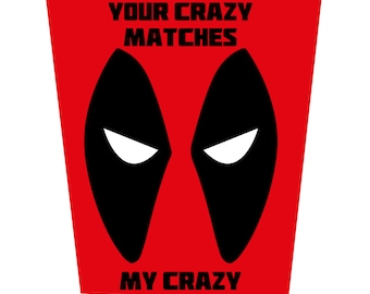 Your Crazy Matches My Crazy Birthday Card