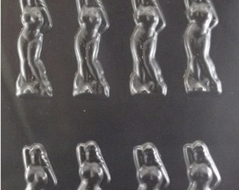 Mini Naked Ladies Adult Chocolate Candy Mold