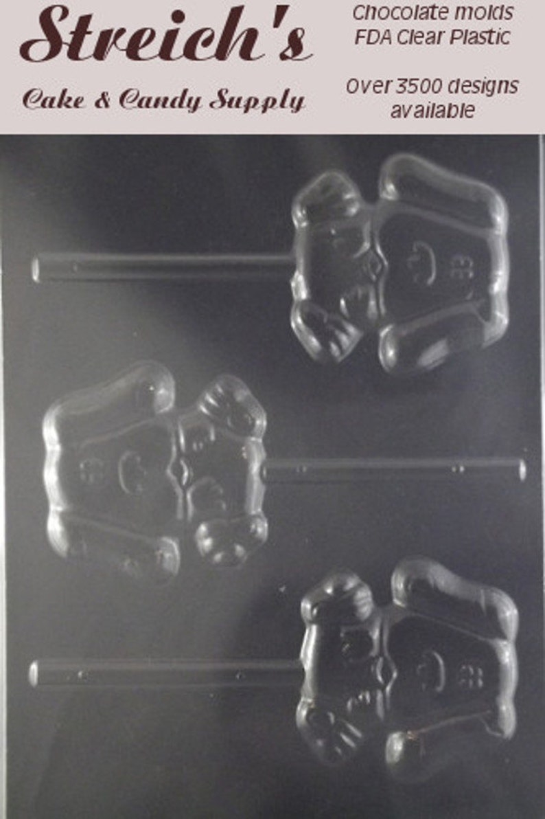Blues Clues Lollipop Chocolate Candy Mold image 0