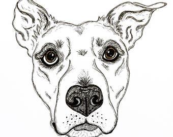 Doggy Doodle - Custom doodle of your beloved dog