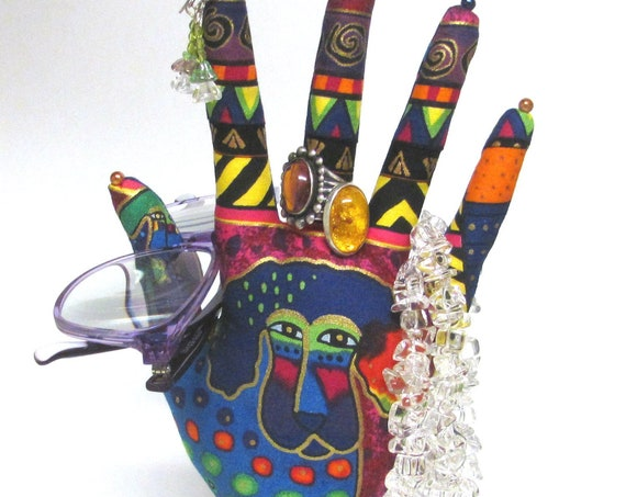 CLASSIC Laurel Burch Dogs HAND-Stand ~ Jewelry Display ~ Ready to Ship!