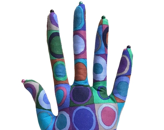 CLASSIC Tiddlywinks HAND-Stand ~ Jewelry Display ~ Ready to Ship!