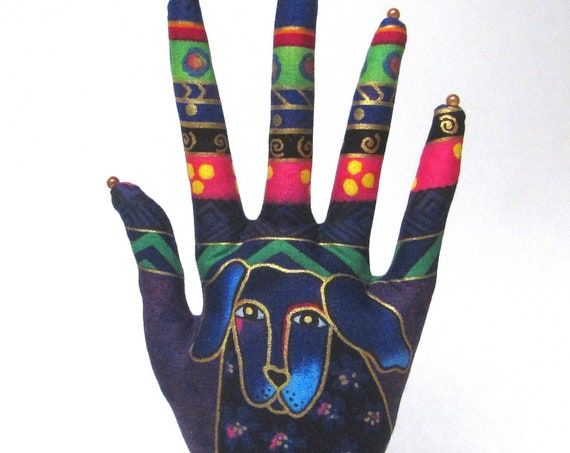 Laurel Burch Dogs n Doggies CLASSIC HAND-Stand ~ Jewelry Display ~ Ready to Ship!