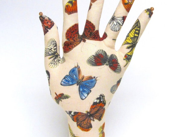 Colorful Butterfly HAND-Stand ~ Jewelry Display ~ Ready to Ship!