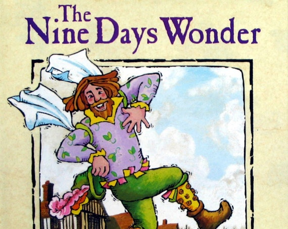 The Nine Days Wonder ~ Children's Book ~ First Edition Out of Print