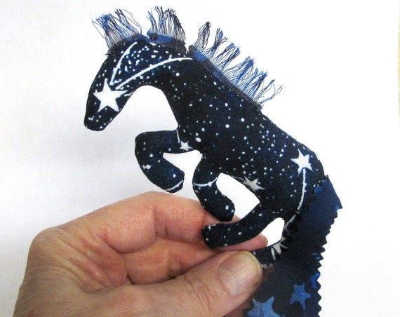 Pretty Little Horse ~ Glow-in-the-Dark Constellation Pin Ornament Mobile ~ Ready to Ship!