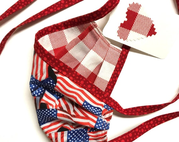 American Picnic ~ Face Mask ~ Ready to Ship!