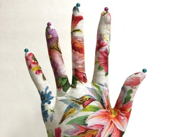 TALL Hummingbird Bouquet HAND-Stand ~ Ready to Ship!