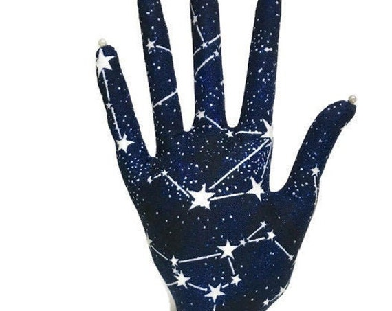 Glow-in-the-Dark Constellations CLASSIC HAND-Stand ~ Jewelry Holder ~ Ready to Ship!