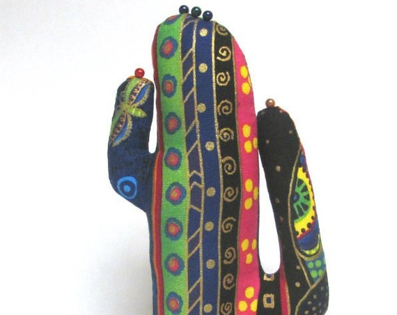 Tall Laurel Burch Signature CACTUS-Stand ~ Jewelry Holder ~ Ready to Ship