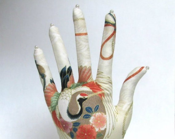 CLASSIC Asian Crane HAND-Stand ~ Jewelry Display ~ Ready to Ship