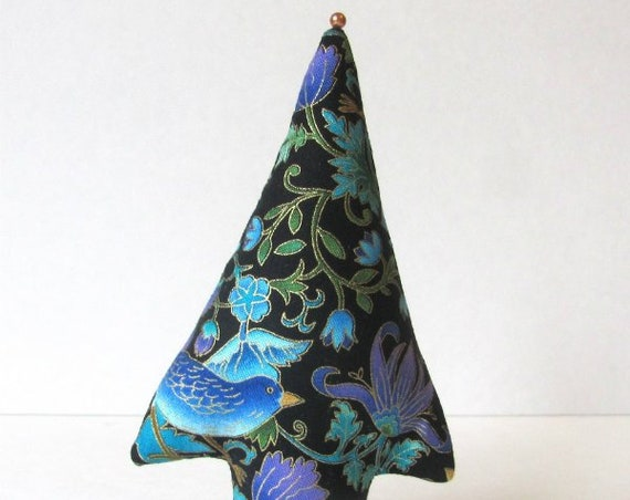 itty bitty Tree of Life TREE-Stand ~ Fabric Centerpiece Place Card Holder ~ Ready to Ship