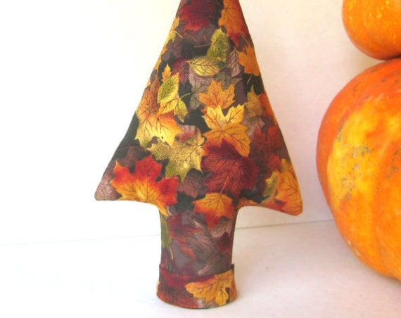 Fall Leaves TREE-Stand ~ Medium Place Card Holder Centerpiece ~ Ready to Ship!