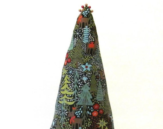 COLOSSAL Woodland Fabric TREE-Stand ~ Centerpiece ~ Earring Ring Display ~ Ready to Ship
