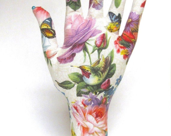 CLASSIC Hummingbird Bouquet HAND-Stand ~ Ready to Ship!