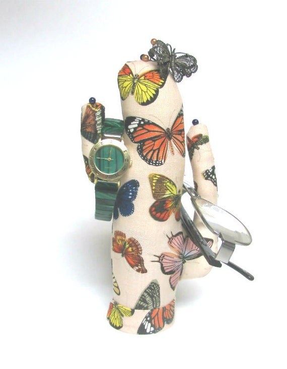 Tall Butterfly Saguaro CACTUS-Stand ~ Eyeglass Watch Jewelry Display ~ Ready to Ship