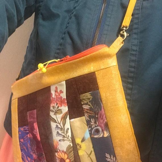 OOAK Zipper BOOK Bag ~ Inside Pocket + Removable Strap ~ Ready to Ship!
