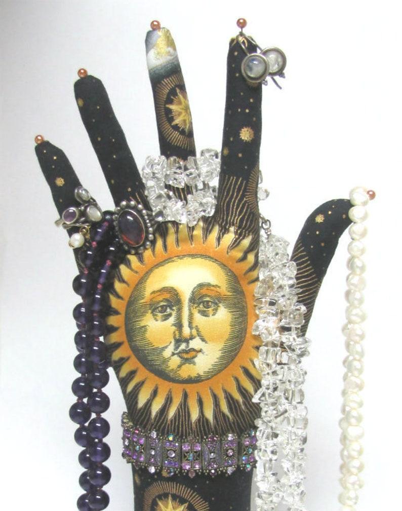 TALL Sun Moon Stars HAND-Stand ~ Ready to Ship