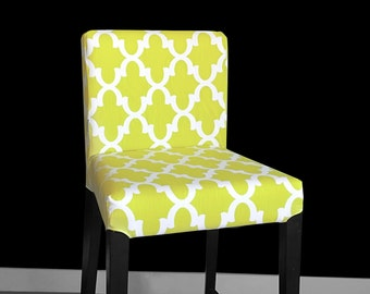 Green IKEA HENRIKSDAL Stool Chair Cover