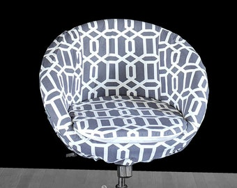 Geometric IKEA SKRUVSTA Chair Slip Cover