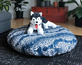 Dog Bed Cover, Giant Breed Dihult Slipcover, Ikea Floor Pillow Covers, Ikea Dihult Covers, Replacement Dog Bed, Dog Proof