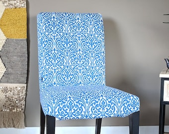 SALE Regal Print IKEA HENRIKSDAL Dining Chair Cover, Indian Sri Lanka Style Henriksdal Slipcover