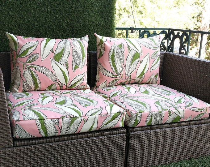 Pink Jungle Ikea Arholma Outdoor Furniture Covers - *Fits Ikea ONLY*