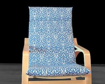 Blue Regal IKEA POÄNG Cushion Slipcover