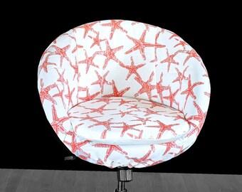 IKEA Orange Starfish SKRUVSTA Chair Slip Cover