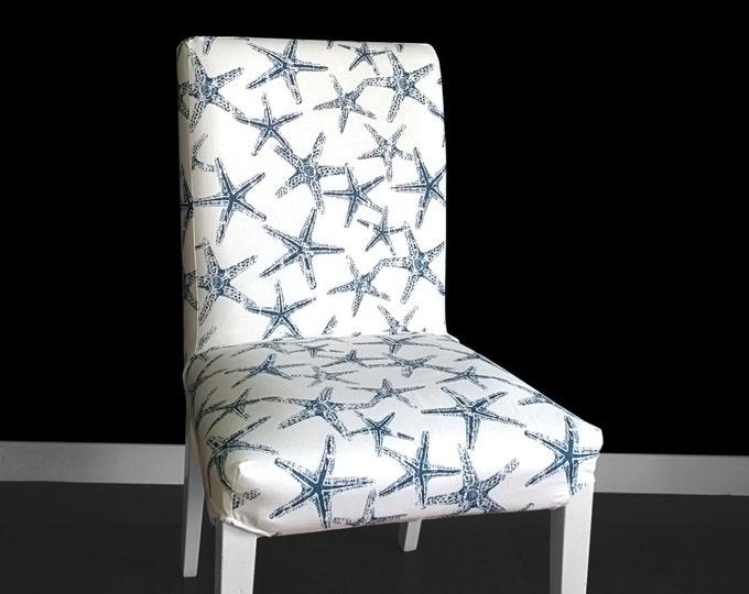 Bespoke Starfish IKEA HENRIKSDAL Chair Cover, Custom Starfish Henriksdal Slipcover