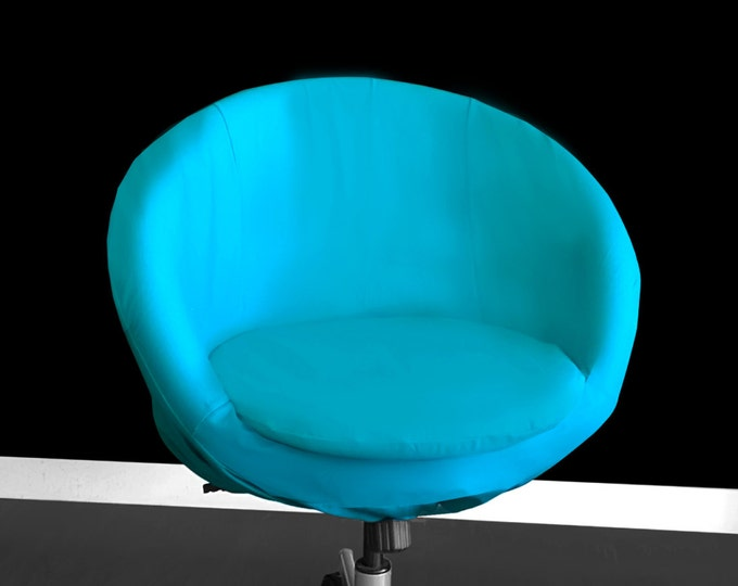 Aqua Blue IKEA SKRUVSTA Chair Slip Cover
