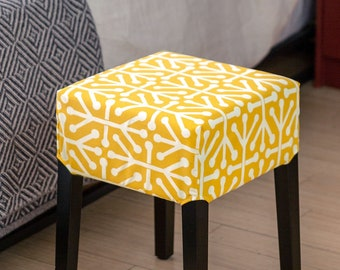 IKEA Stool Cover Yellow Aruba