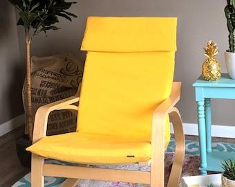 Solid Yellow Ikea POÄNG Cushion Slipcover