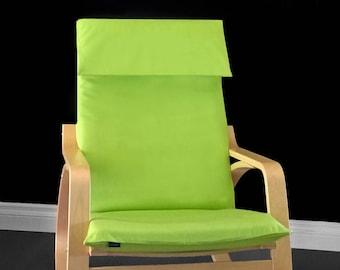 Apple Green Chair Covers, IKEA POÄNG Cushion Seat Cover