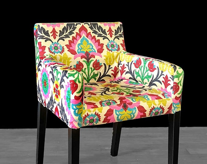 Custom Furniture Prints, IKEA NILS Chair Slip Cover - Santa Maria Desert Flower