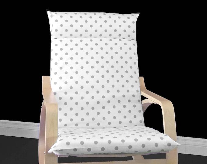 Polka Dot Poang Cover, Dots Ikea Chair Cover