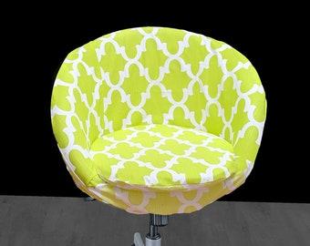 IKEA Lime Green SKRUVSTA Chair Slip Cover
