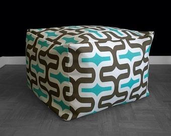 Bold Pattern Jordbro Bean Bag Cover, Custom Ikea Slip Cover
