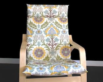 IKEA POÄNG Cushion Slipcover - Santa Maria Pebble