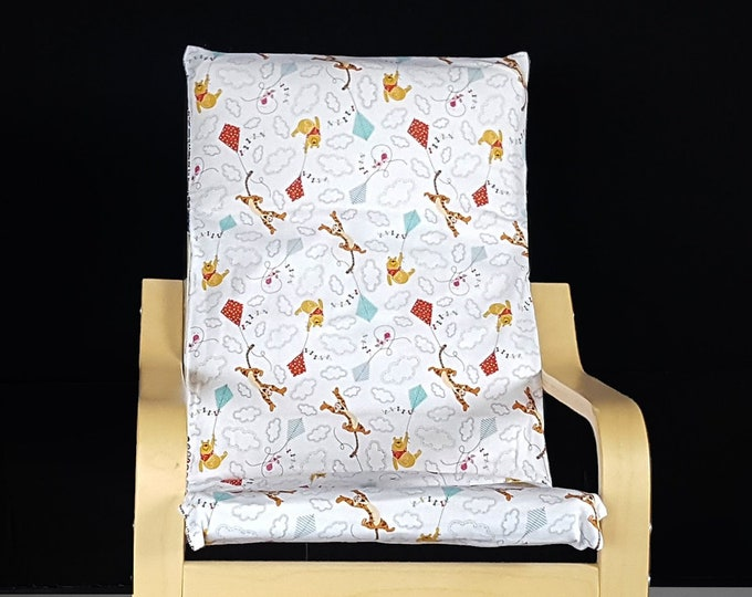 Winnie The Pooh Kids Ikea Poang Chair Cover