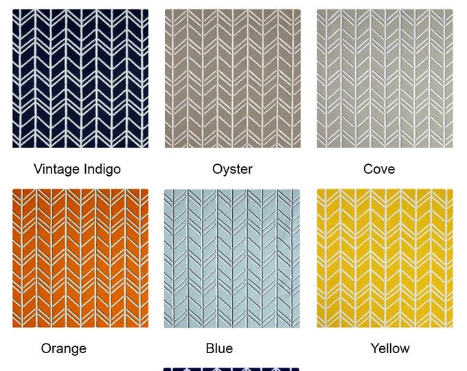 Colorful Chevron Ikea Chair Covers