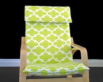 Lime Green Ikea Poang Summerhouse Chair Cover