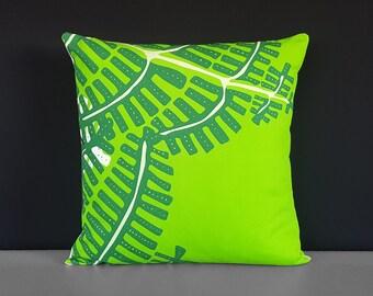 """Pillow Cover Green Fern, 18"""""""