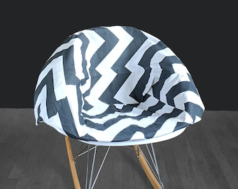 Bold Chevron EAMES Rocking Chair Pad And Cover
