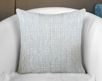 Gray Tweed Pillow Cover