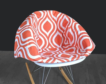 Retro Orange EAMES Rocking Chair Pad