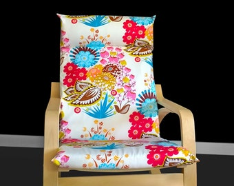 Lou Lou Thi Summer Totem Tart IKEA POÄNG Flower Chair Cover