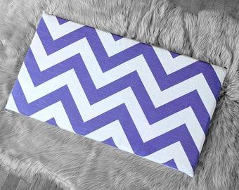 Purple Chevron IKEA STUVA Bench Pad Slip Cover